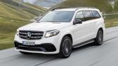 Voiture GLS Mercedes